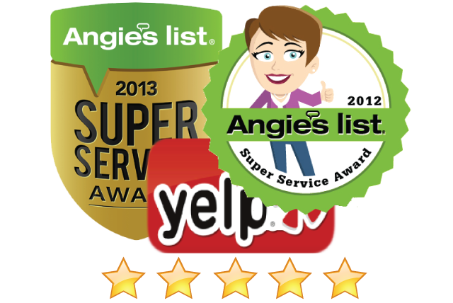 Highest Rated Refrigerator Repair Company on Angieslist and Yelp